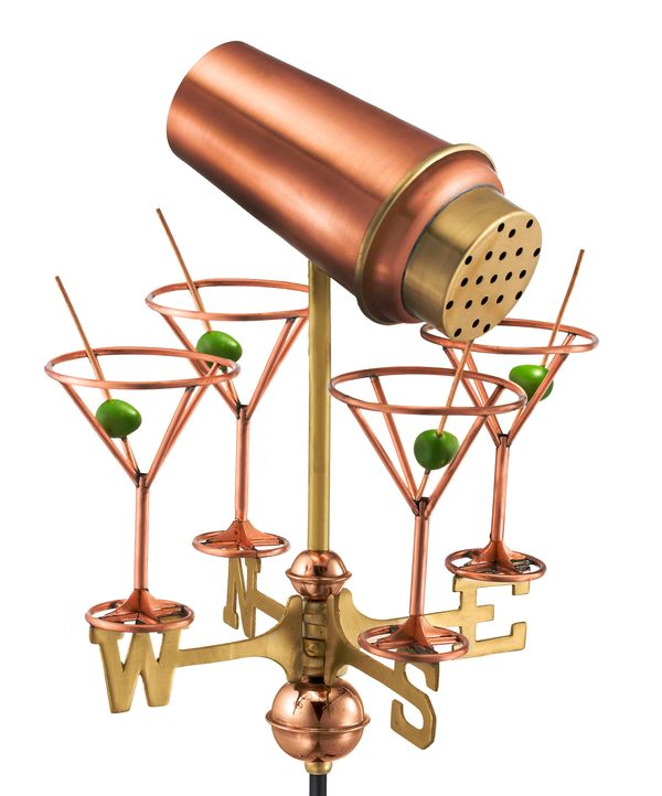 "Does Mom love both martinis and meteorology? How about a <a href=""http://www.bellacor.com/productdetail/good-directions-8861p"
