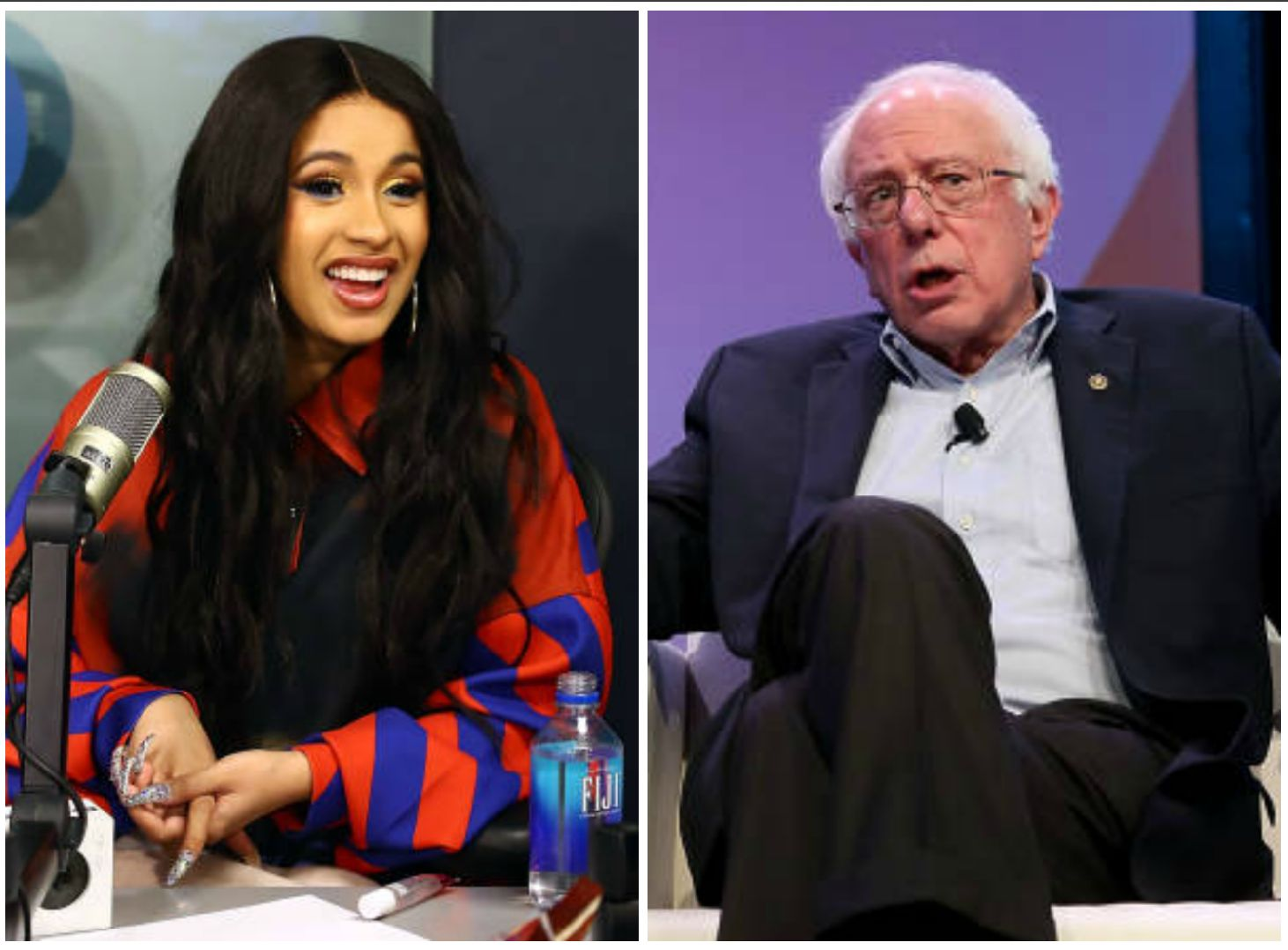 Did Bernie Sanders Just Give Props to Cardi B?