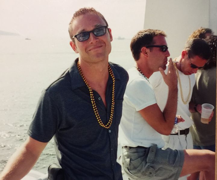 Romu on a cruise in 2001.