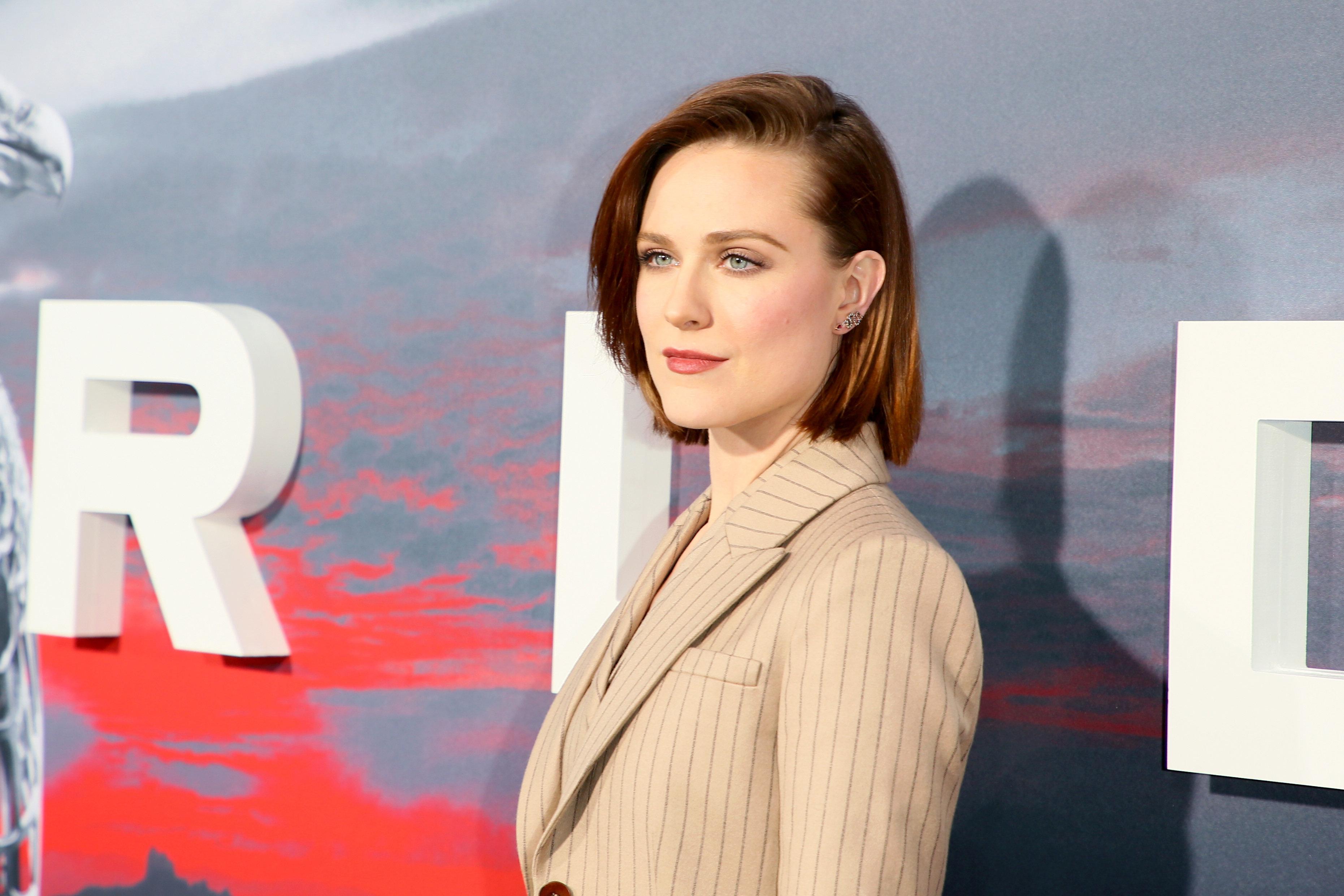 """Evan Rachel Wood plays Dolores Abernathy in """"Westworld."""""""