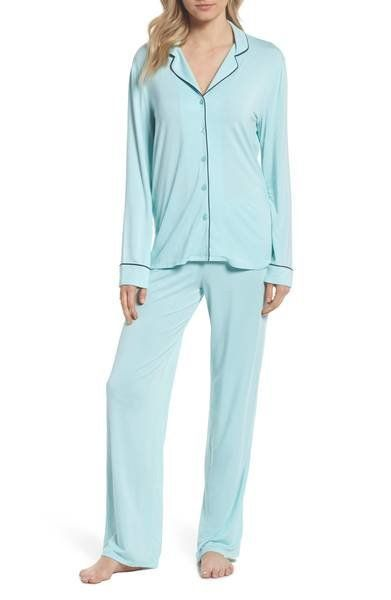 "A new pair of pajamas will instantly soothe her night routine. Get the set at <a href=""https://shop.nordstrom.com/s/nordstrom"