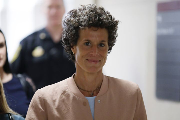 Andrea Constand arrives earlier this week at the courthouse in Norristown, Pennsylvania, where Bill Cosby is on trial for all