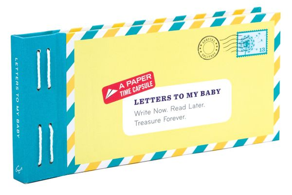 """Create a paper time capsule for her little one with this adorable letters kit. Get it on <a href=""""https://www.amazon.com/Lett"""