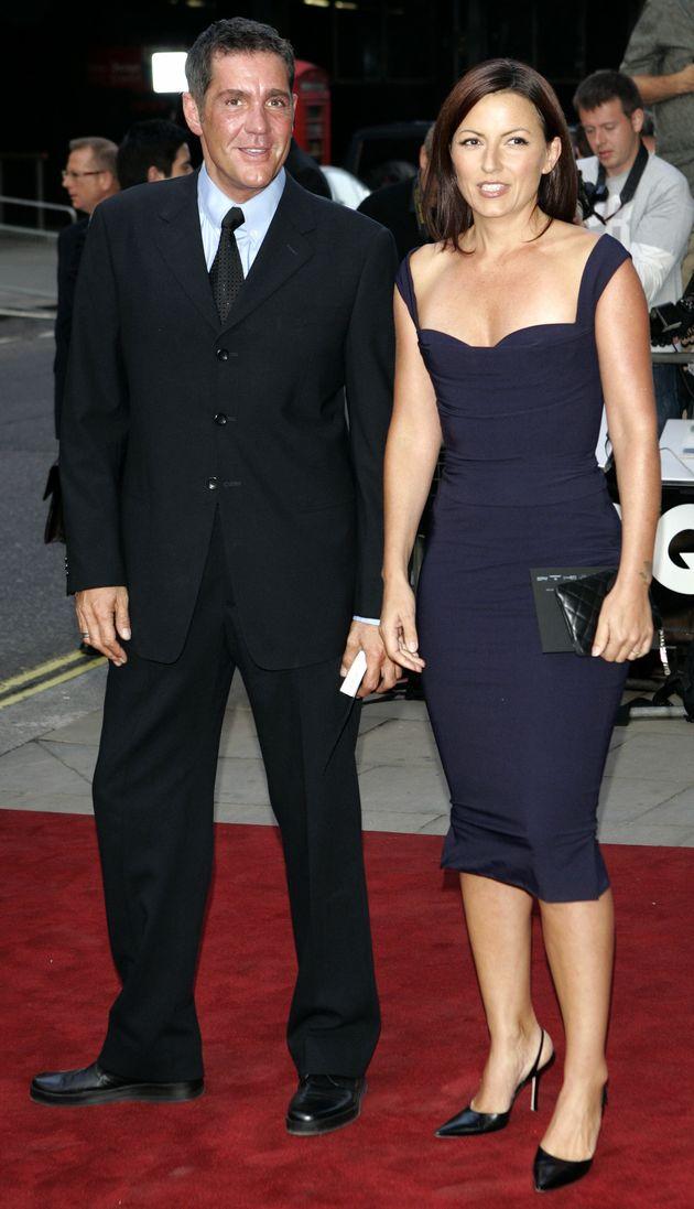 Dale with Davina in 2005
