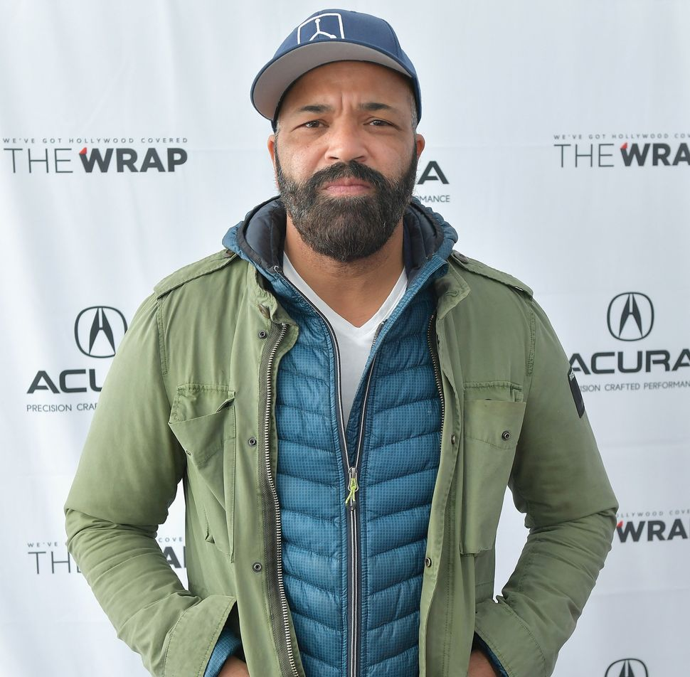 Jeffrey Wright at the 2018 Sundance Film Festival in Park City, Utah.
