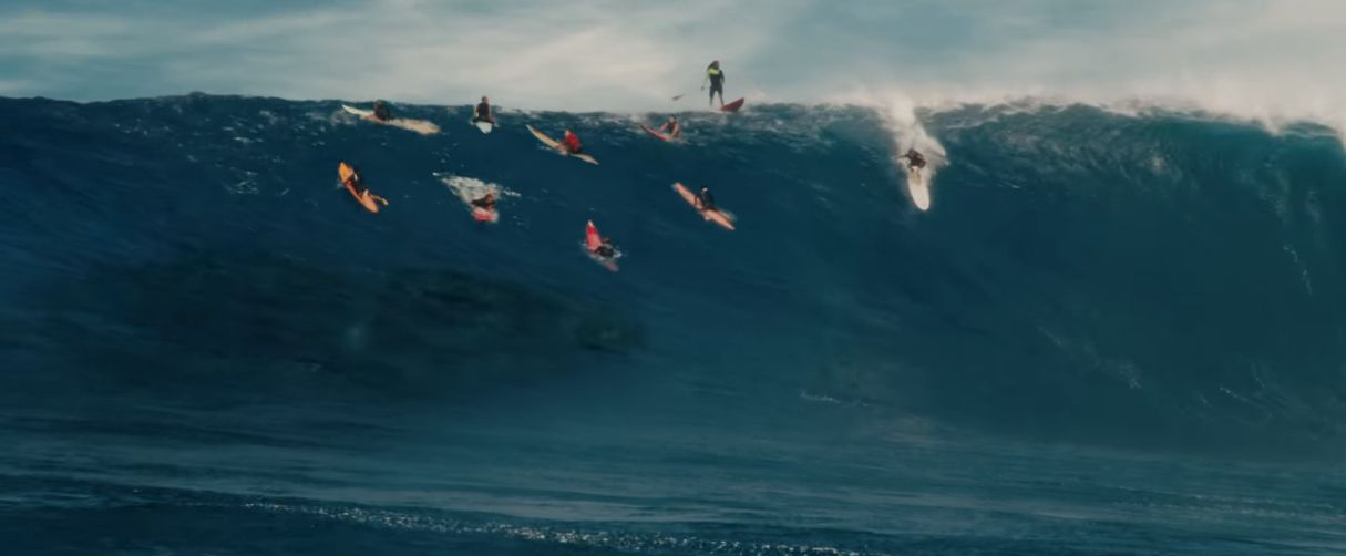 '쥬라기 월드 2'에는 공룡과의 서핑 장면이