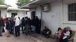 Μυτιλήνη: Συνεχίστηκε η κατάληψη από πρόσφυγες και μετανάστες στην πλατεία Σαπφούς- ένταση το