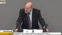 Gregor Gysi rechnet im Bundestag hart mit der Syrienpolitik des Westens