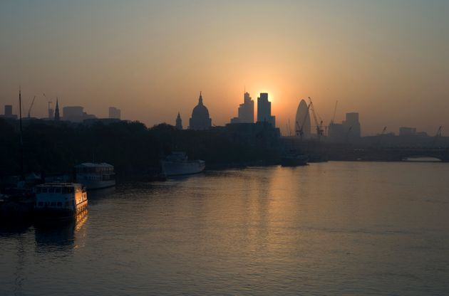 Britain's Department for Environment, Food and Rural Affairs issued a smog alert for England and Wales...