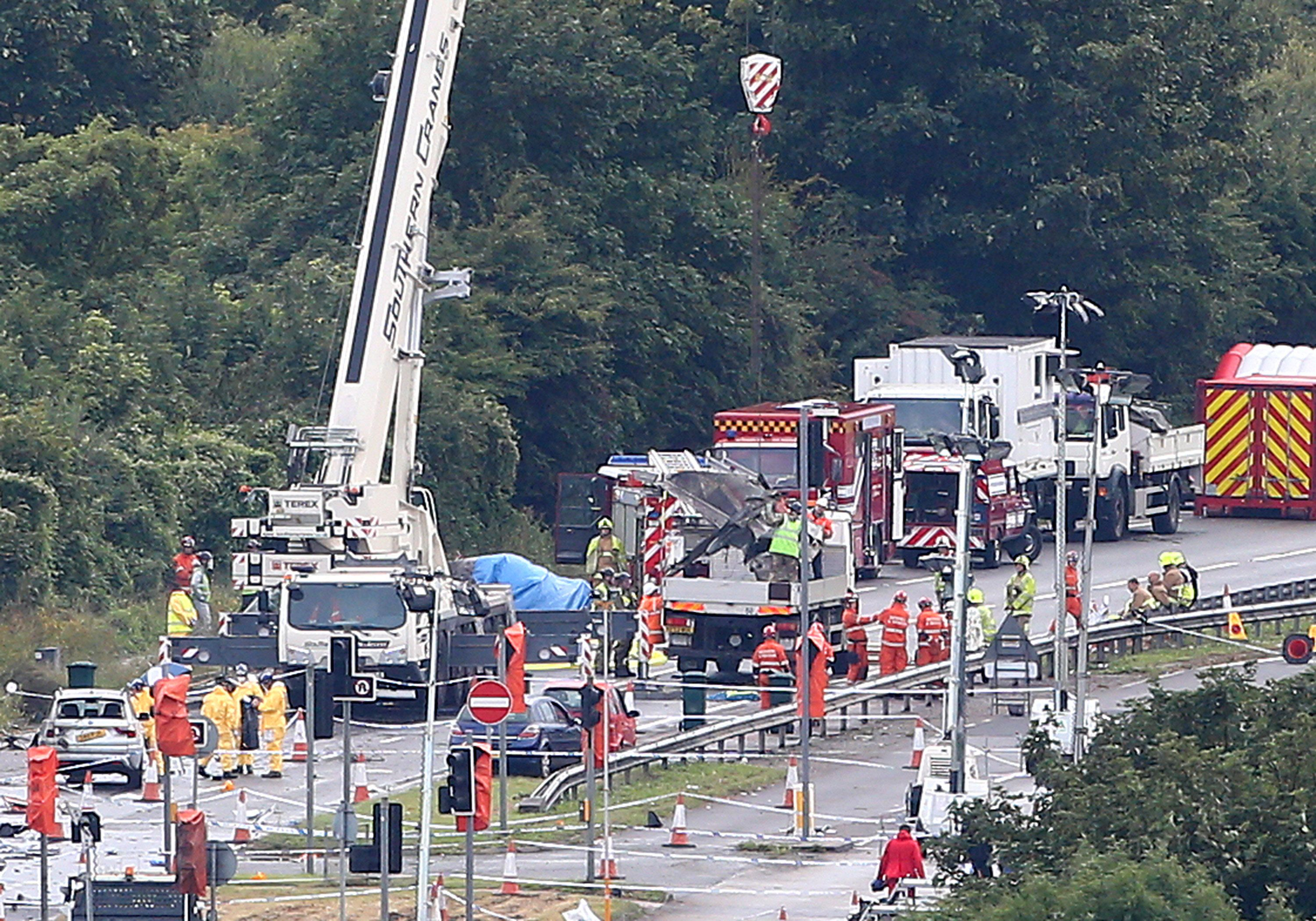 Shoreham airshow crash pilot in court