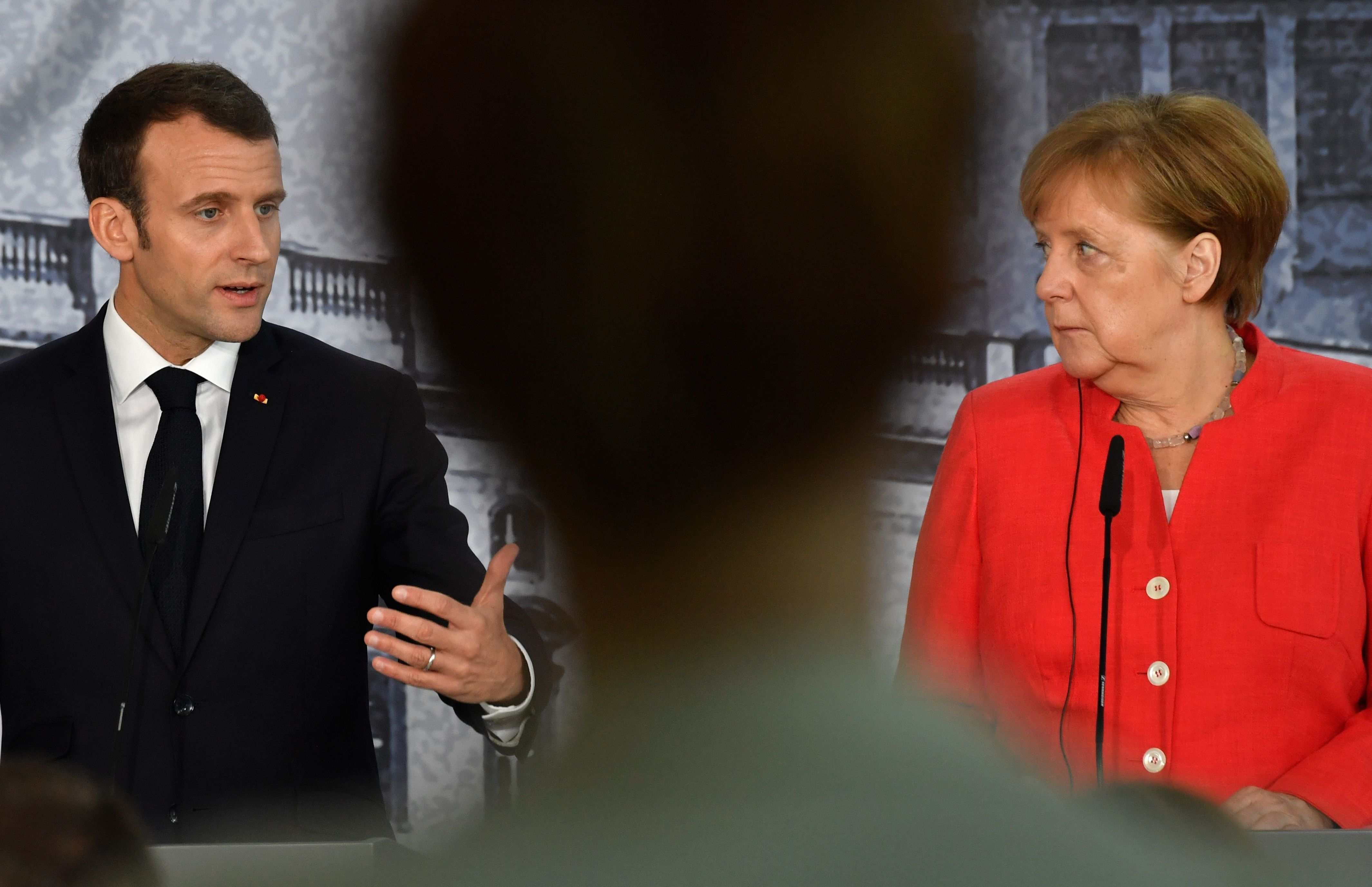 Thema EU-Reformpläne: Macron in Berlin eingetroffen