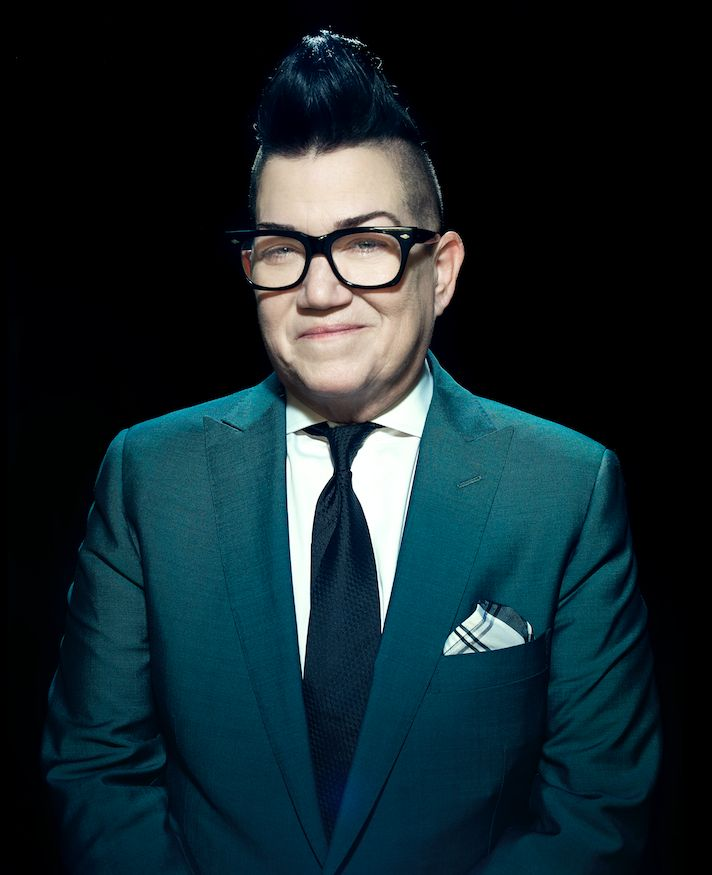 "Lea DeLaria says she's ""still incredibly active sexually and I've never really been monogamous."""