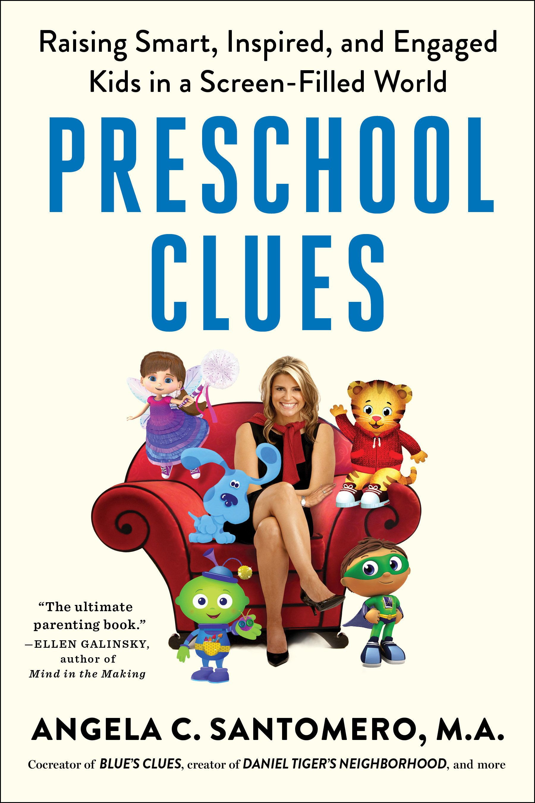 """Angela Santomero, creator of """"Super Why!"""" and """"Blue's Clues,"""" released a book this month about the tools to unlock preschoole"""