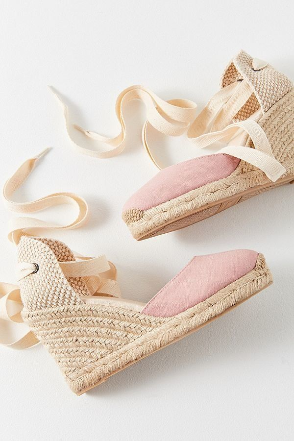 Espadrilles are the perfect spring and summer shoe to give you some height without putting unnecessary strain on your feet. <