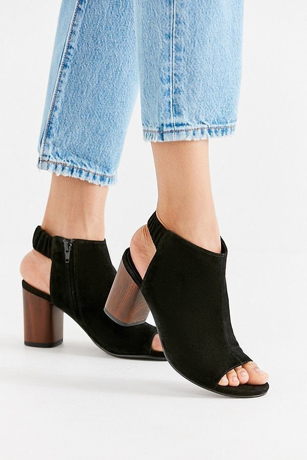 """These aren't your grandmother's slingbacks. While we're waiting for some warmer temps, throw on <a href=""""https://www.urbanout"""