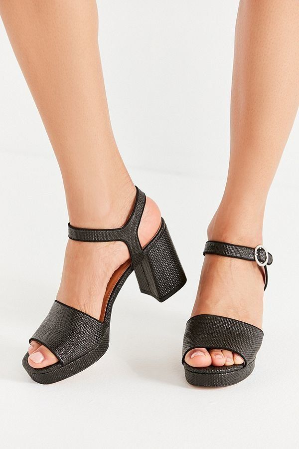 """Gone are the days of stilettos that will break your ankles. <a href=""""https://www.urbanoutfitters.com/shop/sienna-rattan-heel?"""