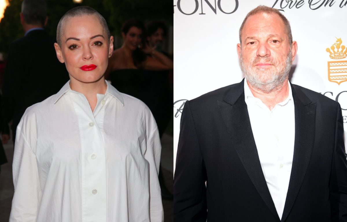 Rose McGowan Says Weinstein Won't Be Prosecuted For Any Of His Alleged Crimes