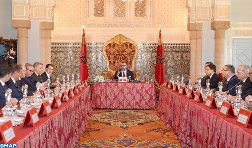 Le roi Mohammed VI préside un Conseil des ministres à Rabat