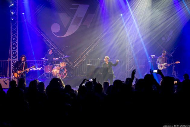 Jazzablanca: Tom Odell se déchaîne sur scène... et dans le