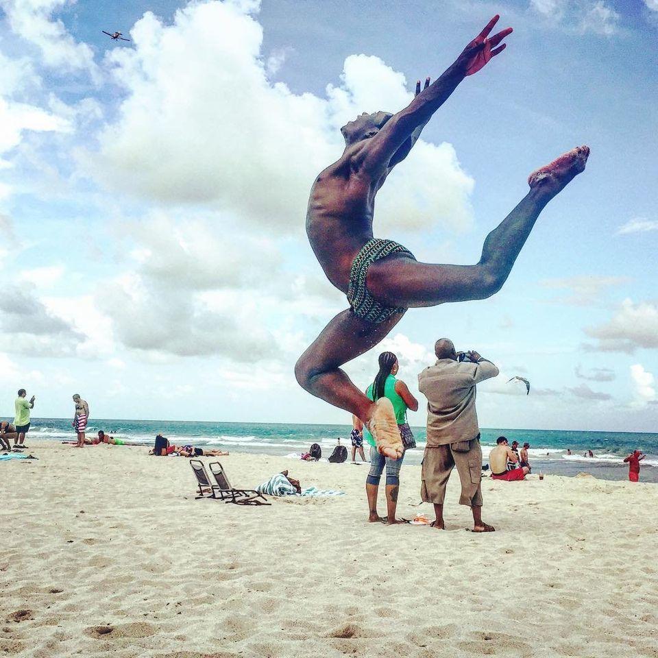Elijah Avraham, founder of Black Boys Dance