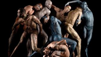 Dancers for Black Boys Dance Too pose for a photo