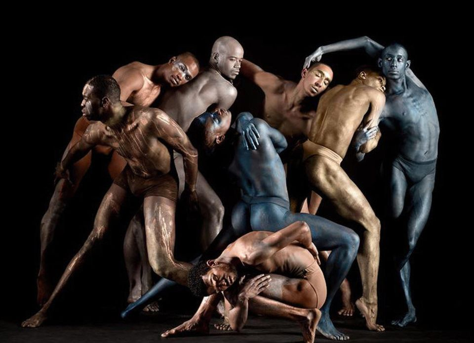 Dancers for Black Boys Dance Too pose for a