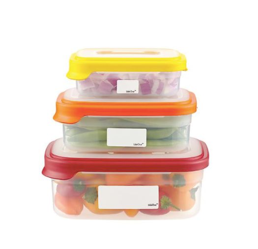 "You'll always know whose leftovers are taking over the fridge. Get it <a href=""https://www.containerstore.com/s/kitchen/food-"