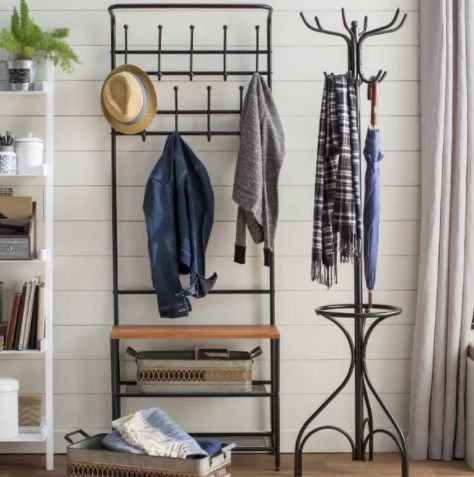 "It's practical and it's affordable. Get it <a href=""https://www.wayfair.com/furniture/pdp/honey-can-do-entryway-storage-hall-"