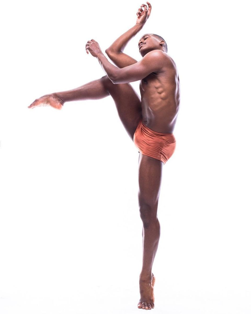 Kevin Tate, a performer with Black Boys Dance