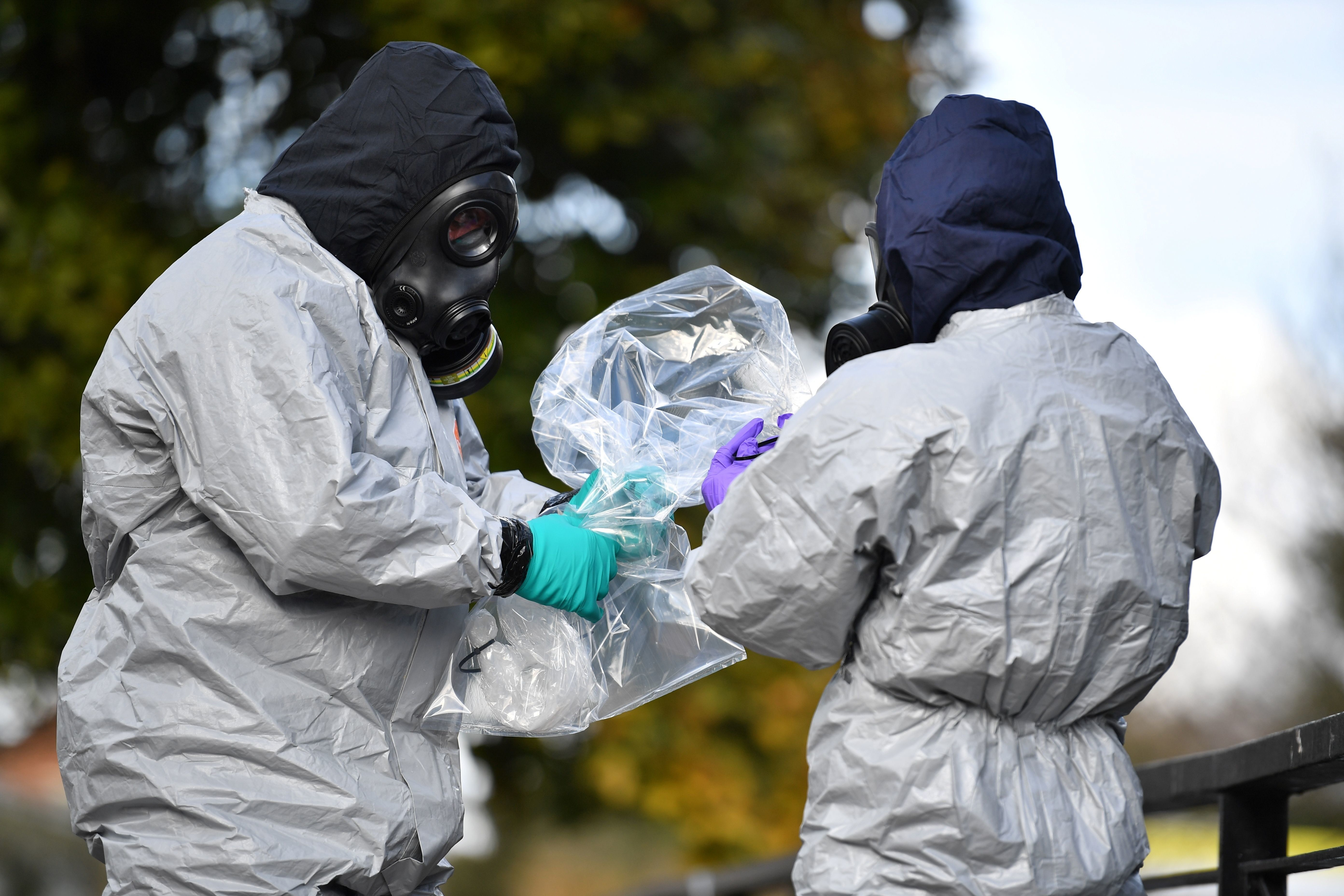 Salisbury Nerve Agent Could Still Be At 'Toxic' Levels In Places, Residents