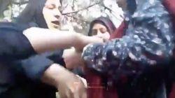 Iranische Polizistinnen verprügeln Frau – weil deren Kopftuch locker