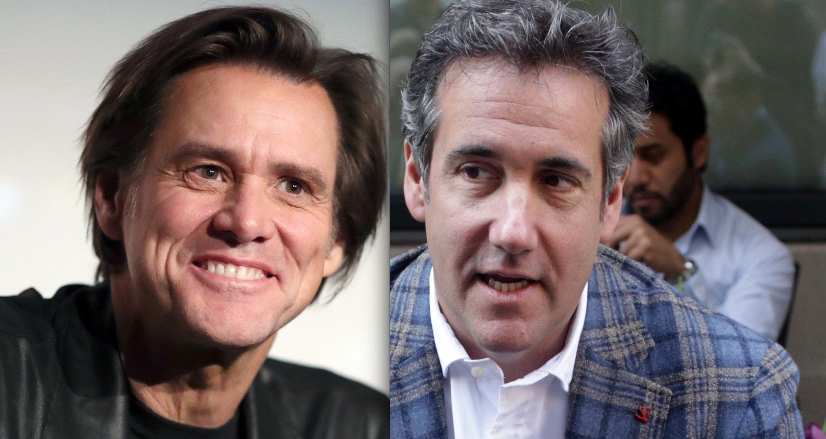 Jim Carrey Paints A 'F**king Disgusting' Picture Of Trump Attorney Michael Cohen