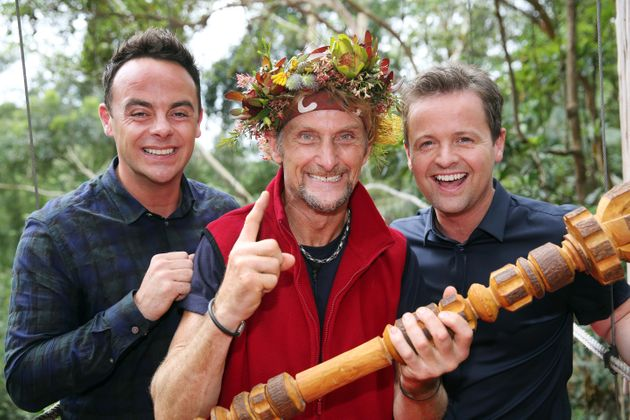 Ant and Dec with Carl Fogarty in
