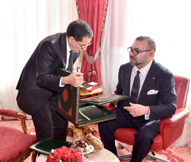 El Othmani présente au roi les lignes conductrices de la réforme des