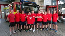 Hero Firefighters To Run London Marathon For Children Who Survived