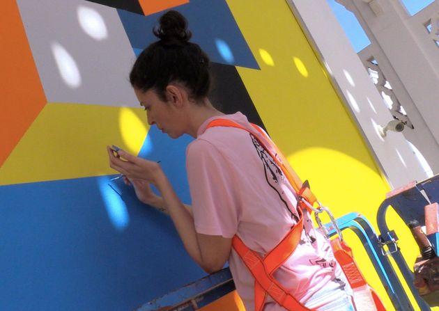 Jidar: L'énergie positive de l'art urbain avec Ghizlane