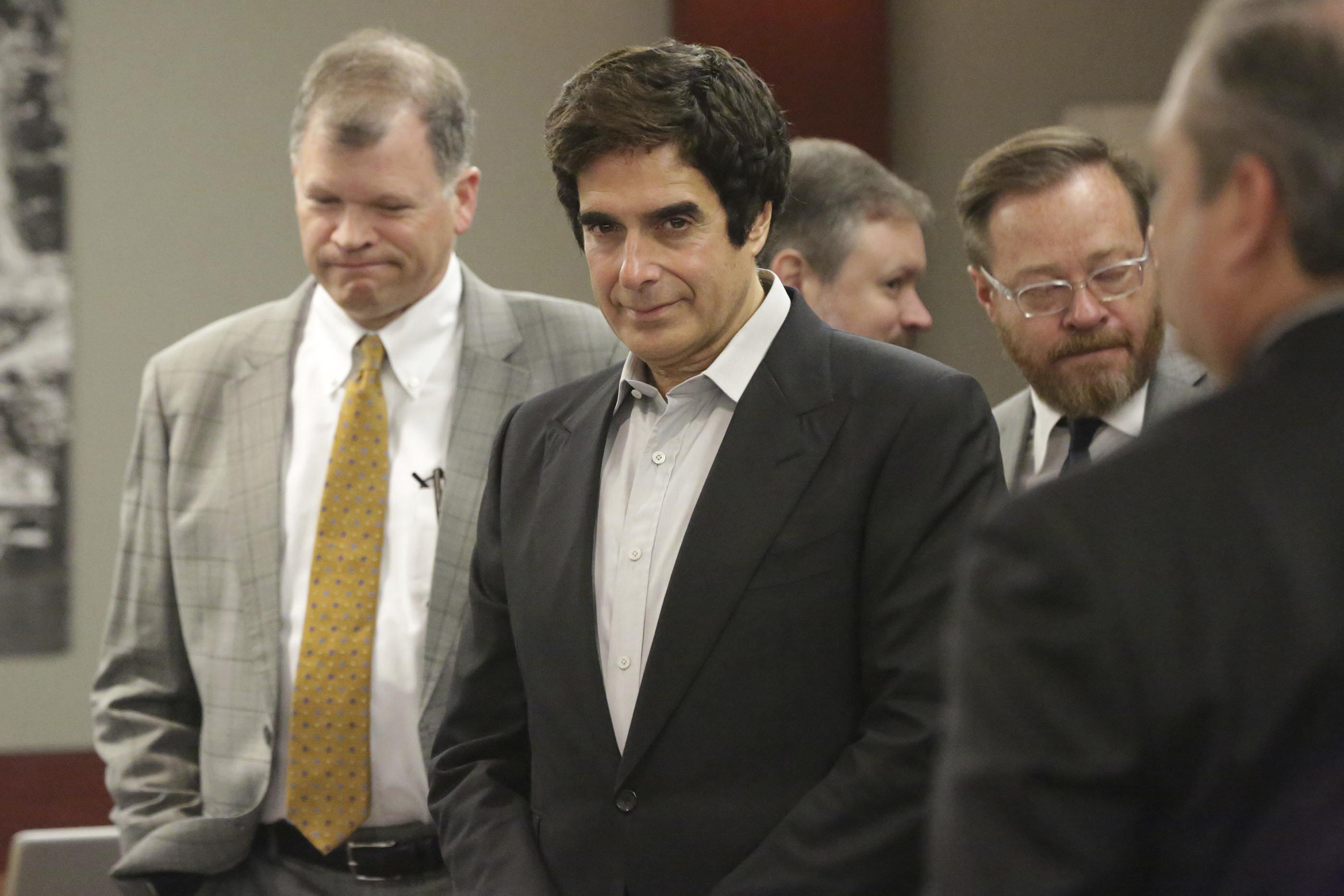 David Copperfield: Ein Gericht zwingt ihn, seinen größten Trick zu verraten