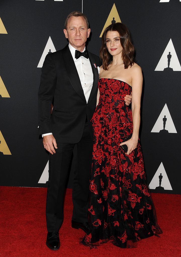 Daniel Craig and actress Rachel Weisz attend the 7th annual Governors Awards.