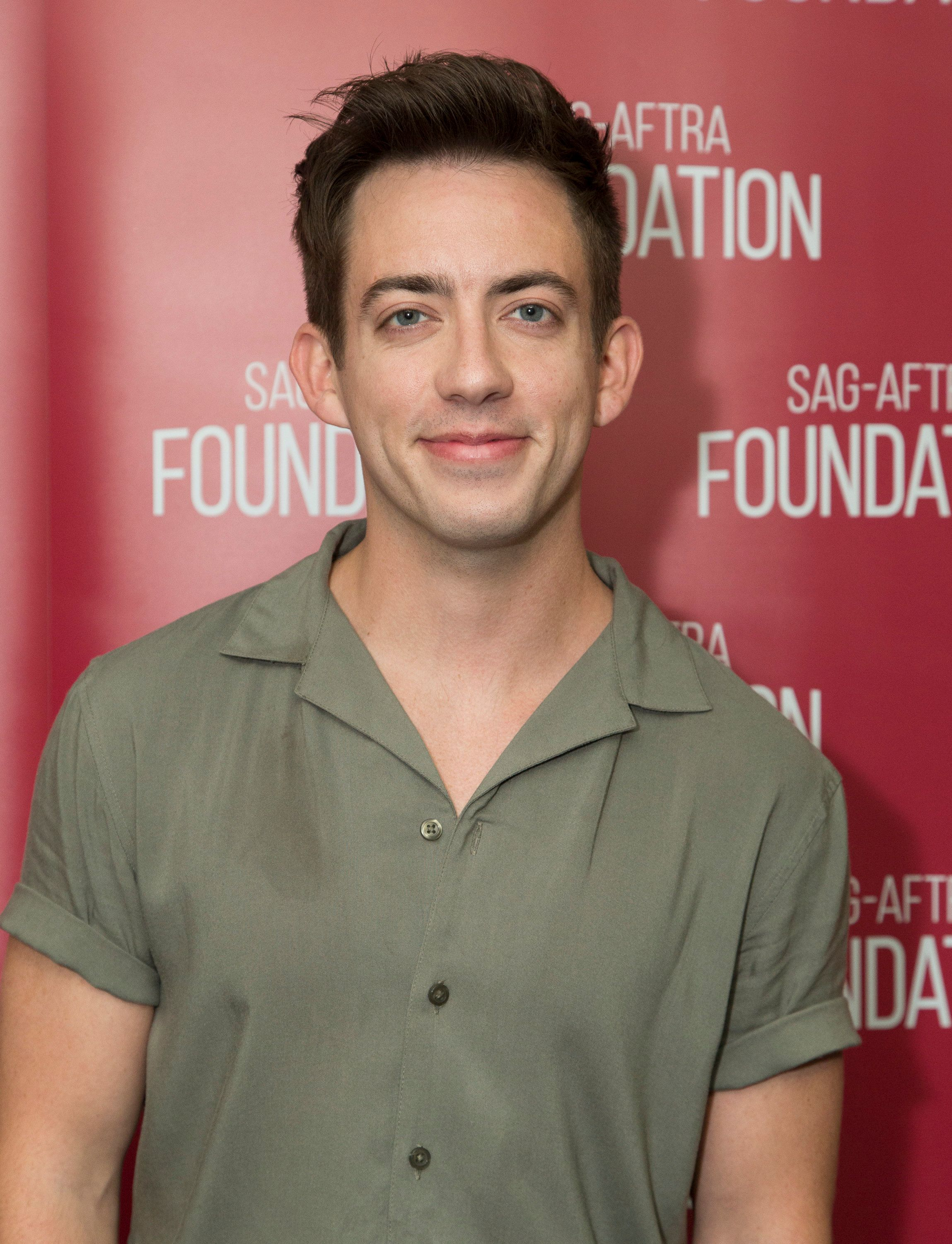 Kevin McHale pictured in April 2018.