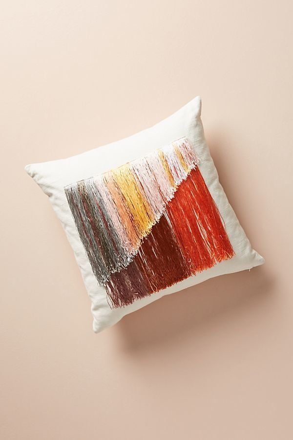 """Get it from <a href=""""https://www.anthropologie.com/shop/atmospheric-fringe-pillow2?category=SEARCHRESULTS&color=095"""" targ"""