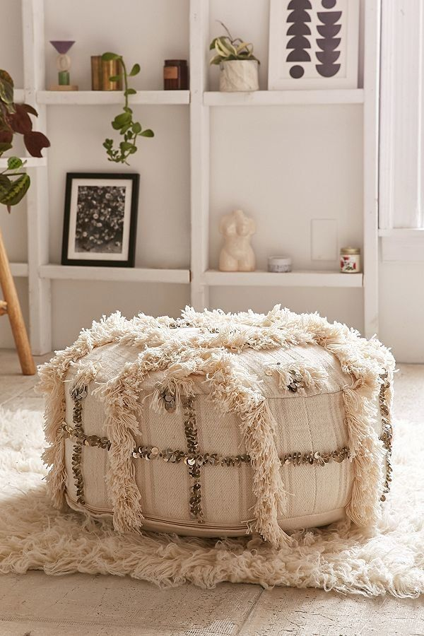 """Get it from <a href=""""https://www.urbanoutfitters.com/shop/coin-pillow-pouf?category=SEARCHRESULTS&color=012"""" target=""""_bla"""