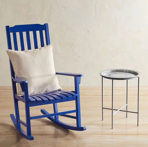 If you've got a patio for one, don't get discouraged by the small amount of space you have. This adorable set is perfect for