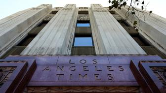 LOS ANGELES - SEPTEMBER 10:  Architect Gordon Kaufmann's Los Angeles Times Building in Los Angeles, California on September 10, 2017.  MANDATORY MENTION OF THE ARTIST UPON PUBLICATION - RESTRICTED TO EDITORIAL USE.  (Photo By Raymond Boyd/Getty Images)