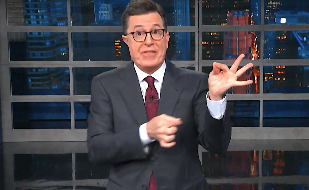 Stephen Colbert Pokes Holes In Trump's Abstinence-Only Sex Education Agenda