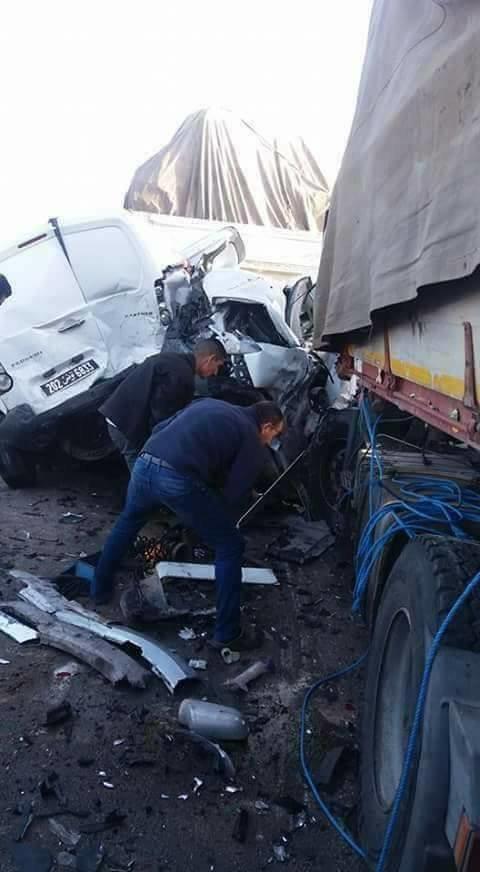 Carambolage sur l'autoroute Sfax-Sousse: Plusieurs morts et blessés (VIDÉO,