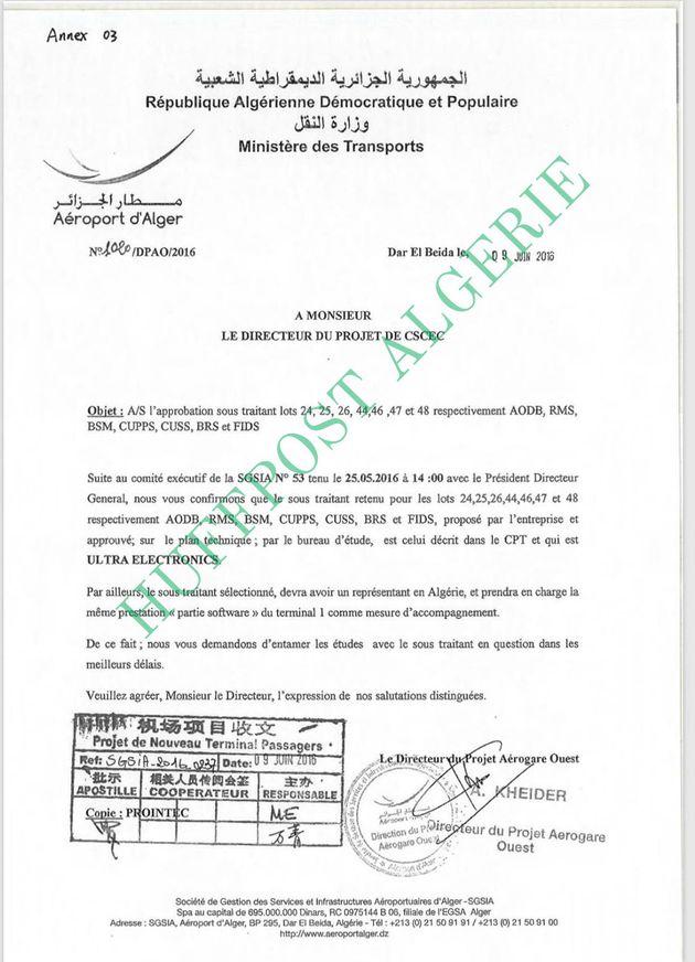 Enquête britannique pour corruption en Algérie: les documents qui démentent la version de la