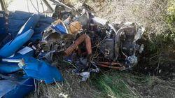 Νεκροί και οι δύο επιβαίνοντες από τη συντριβή μονοκινητήριου αεροσκάφους στη