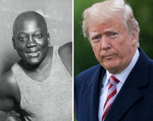 Trump Considering 'Full Pardon' Of Late Boxing Champion Jack Johnson