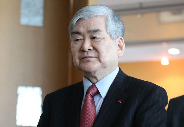 조양호 한진그룹 회장이 '일가 갑질 논란'에 공식 사과문을