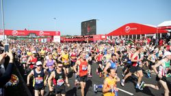 It's Officially Been The Hottest London Marathon Ever Recorded
